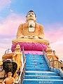 Buddha statue at Sasaram, Bihar.jpg