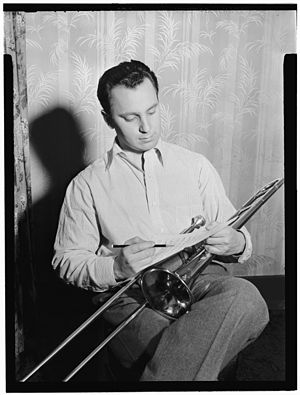 Buddy Morrow - Buddy Morrow, c. May 1947  Photograph by William P. Gottlieb