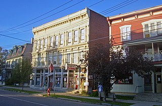 Salem Historic District (New York) United States historic place