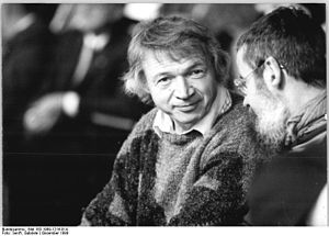 Eisenhüttenstadt - Bahro, Berlin 1989, SED Party convent