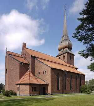 Bureå - Bureå Church