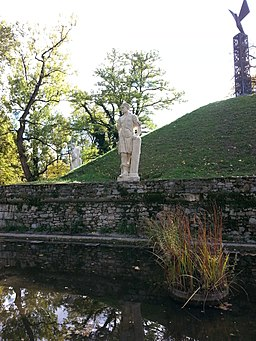 Burggarten Graz, Samson