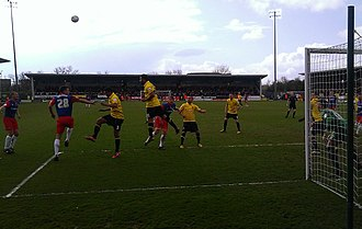 Burton Albion F.C. - Albion in action against Gillingham in the final match of the 2012–13 season