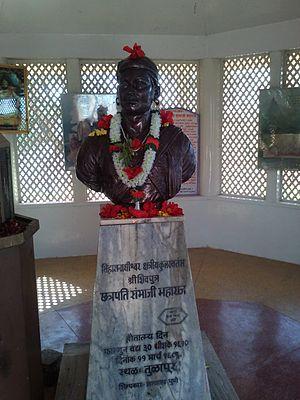 Tulapur - Bust of Sambhaji Maharaj at Tulapur