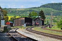 Sauschw nzlebahn alemannische wikipedia Depot radolfzell