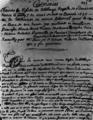 Cérémonies des obsèques de la Dauphine Bavière par Saint-Simon 1690.png