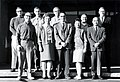 C.1965. Personnel of the Forest Pathology and Mycorrhiza projects. Front row, left to right J. Trappe; unknown; K.Shea; D. Duff; C.Y. Li. 2nd row Unknown; E. Nelson; G. Harvey; J. Neal; P. Aho. (33683922365).jpg