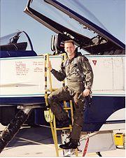"C.J. ""Gus"" Loria, X-31 Pilot"