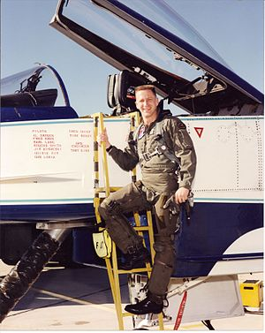 "Christopher Loria - CJ ""Gus"" Loria, X-31A Test Pilot"