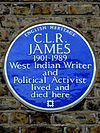 C.L.R. JAMES 1901-1989 West Indian Writer and Political Activist lived and died here.jpg