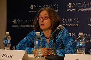 "C. Christine Fair - C. Christine Fair at New America event ""Afghanistan Eight Years On"" in 2009"