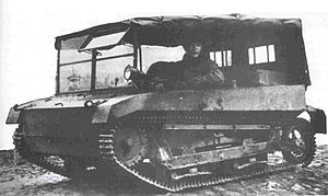 C2P - C2P artillery tractor