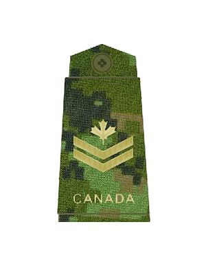 Master corporal - Image: CADPAT MCPL