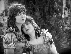 Maytime (1923 film) - Clara Bow and Ethel Shannon