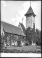 CH-NB - Thun, Kirche Scherzligen, vue partielle extérieure - Collection Max van Berchem - EAD-9464.tif