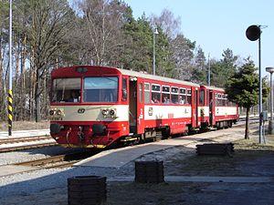 ČD Class 810 - Image: CSD Baureihe M 152.0