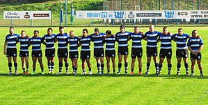 CSM București (rugby) - CSM București before a match in 2015 Superliga