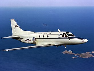 North American Sabreliner - United States Navy CT-39E of VR-30 in 1980
