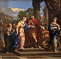 Caesar giving Cleopatra the Throne of Egypt-Pietro de Cortone-MBA Lyon A53-IMG 0355.jpg