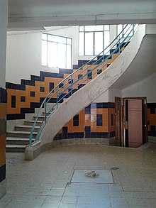 Staircase Of Building On Rue Du Docteur Cassar, Hafsia, Tunis, Tunisia