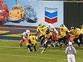 Cal on offense at 2008 Emerald Bowl 24.JPG