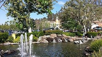 Calabasas, California - The Commons at Calabasas shopping center