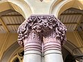 Calcutta High Court - Sculptured on the pillar 04.jpg