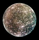 Callisto, the third largest moon in the Solar System