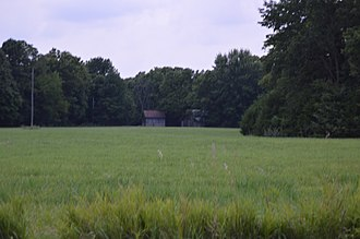 National Register of Historic Places listings in Hancock County, Illinois - Image: Cambre Farm distant
