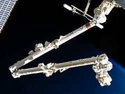Canadarm2 during Expedition 62 (ISS062-E-055099).jpg
