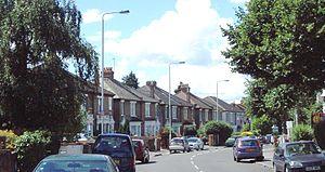 Cann Hall - Houses on Cann Hall Road