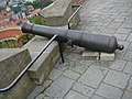 Cannon on the Špilberk.JPG