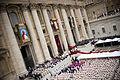 Canonization 2014- The Canonization of Saint John XXIII and Saint John Paul II (14036819834).jpg