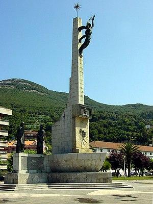 Juan de Ávalos - Monument to Luis Carrero Blanco in Santoña, Spain