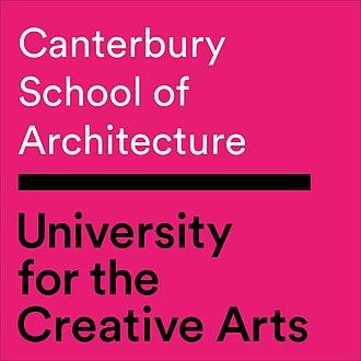 Canterbury School of Architecture - Image: Canterbury School of Architecture Logo