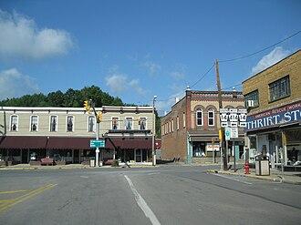 Canton, Pennsylvania - Downtown Canton