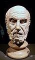 Cap de marbre de Crisip, exposició La Bellesa del Cos, MARQ.JPG
