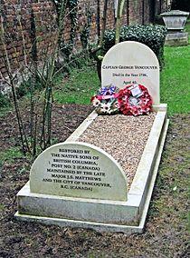Captain George Vancouver's Grave, St Peter's Church, Petersham - London. (24585962492).jpg