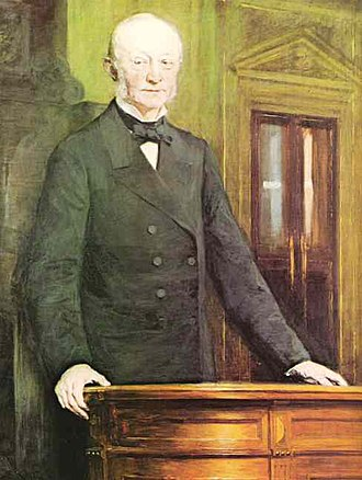 Carl Frederik Tietgen - Tietgen painted by O. S. Krøyer in 1892