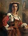 Carl von Blaas - Włoszka w stroju narodowym.jpg