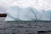 An iceberg near Newfoundland