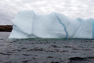 Water resources - Iceberg near Newfoundland