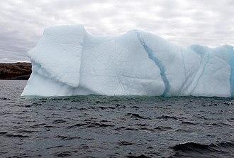 Water resources - Iceberg near Newfoundland