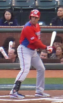 Carlos Beltrán on March 17, 2013.jpg