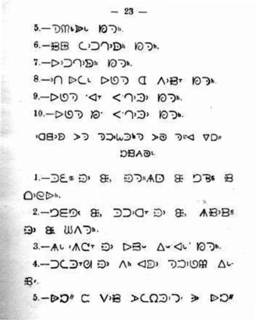 Carrier syllabics Script for the Carrier language of British Columbia, Canada