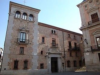 Casa de Cisneros (Madrid) - La Casa de Cisneros in the Plaza de Villa.