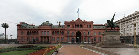 Casa de Gobierno- Casa Rosada