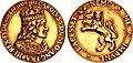 Cast gold medal of Charles II Stuart.jpg