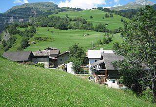 Casti-Wergenstein Place in Graubünden, Switzerland
