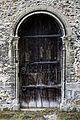 Castle Hedingham, St Nicholas' Church, Essex England, north aisle west door.jpg